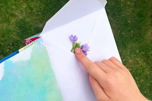 Craft a Kid's Journal From Recycled Materials