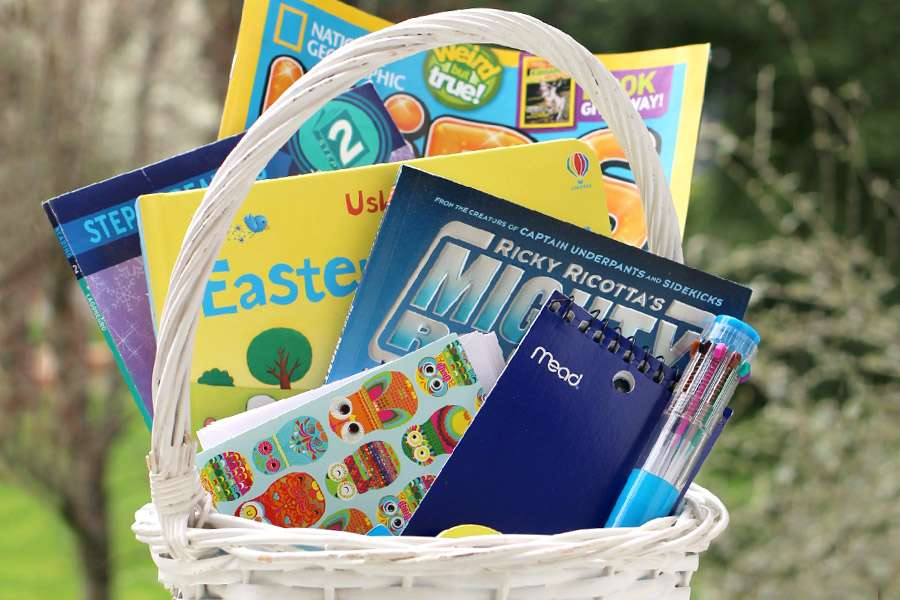 Lose the Candy! Fill Your Child's Easter Basket With Literacy