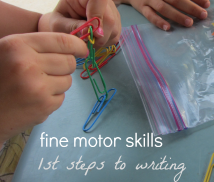 First Steps to Writing: Build Fine Motor Skills