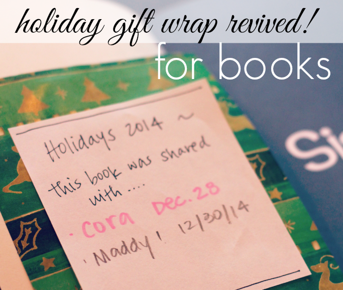 Holiday Gift Wrap Revived for Books!