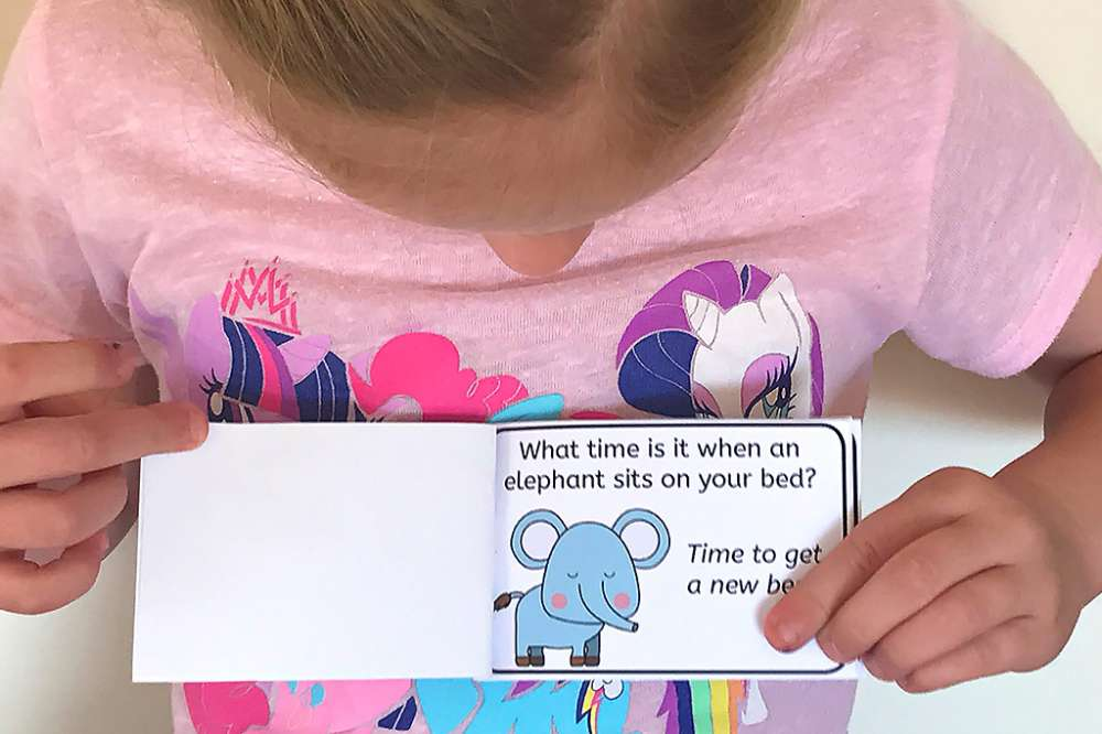 Laugh & Learn: Make This DIY Joke Book For Your Kids