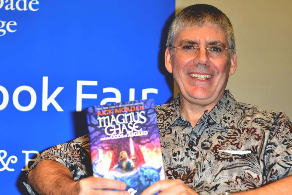 Rick Riordan: Who He Is and Why He Rocks