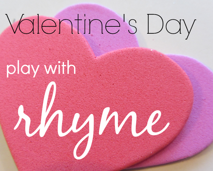 Valentine's Day Play With Rhyme: Free Printable Valentines