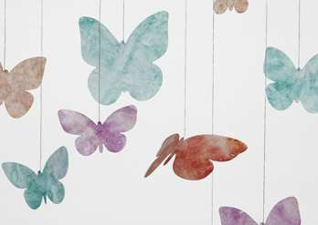 Butterfly Mobile Craft
