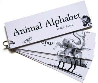 Dad-Owned Companies Inspired By Kids: Animal Alphabet Flashcards