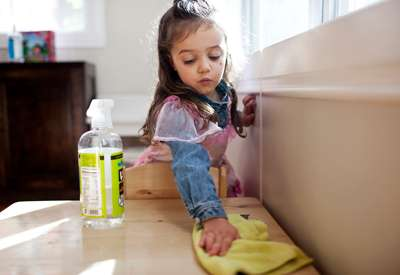 Dad-Owned Companies Inspired By Kids: Better Life Cleaning Products