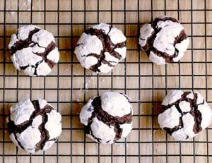 Easy Holiday Cookie Recipe: Fudge Crinkles