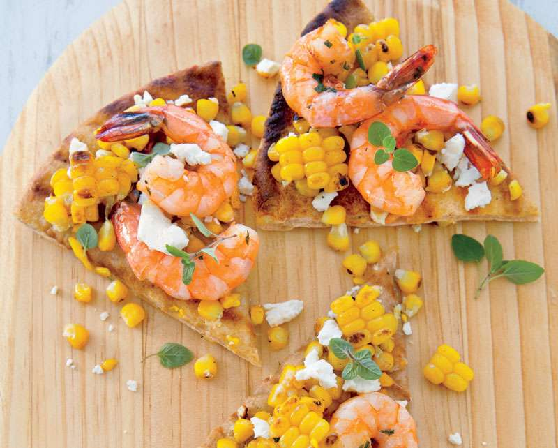 Grilling Recipes: Shrimp Pizza