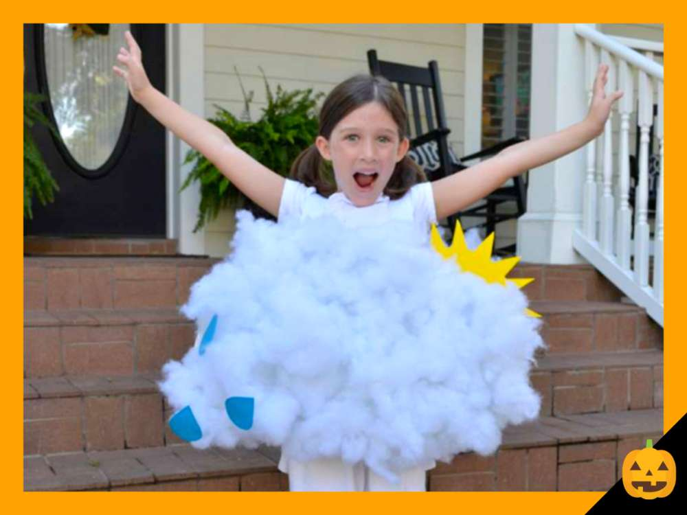 Kid's Halloween Costume: Rain Cloud