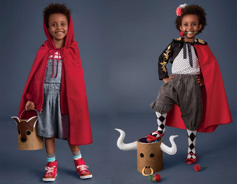 Matador and Red Riding Hood Costumes for Kids