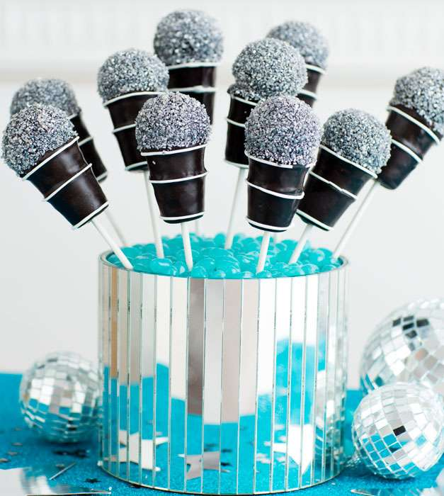Microphone Cake Pops Recipe