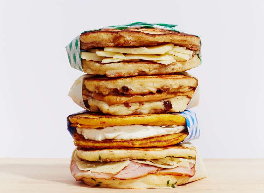 Pancake Sandwich Recipes