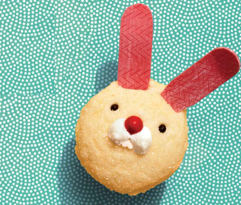 Yummy Easter Desserts: Funny Bunnycakes