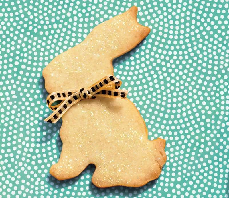 Yummy Easter Desserts: Handsome Hare Cookies