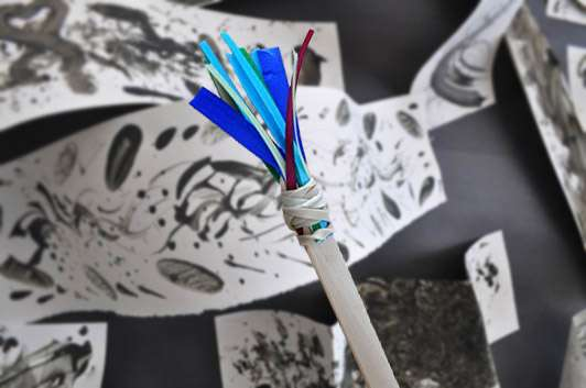 5 Kid-Friendly DIY Paintbrushes