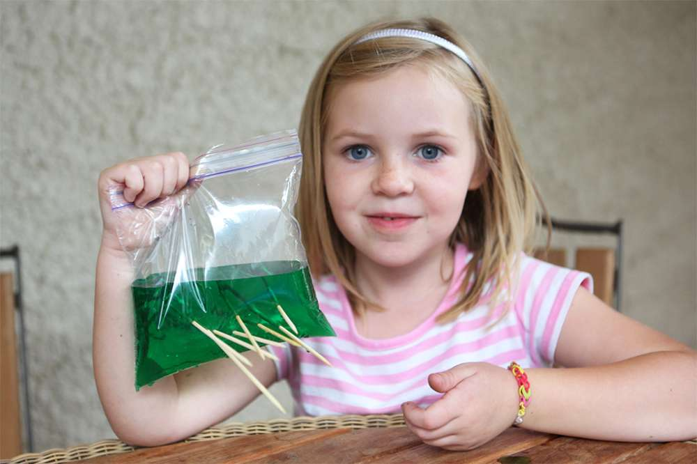 DIY Science: Poke the Magic Bag