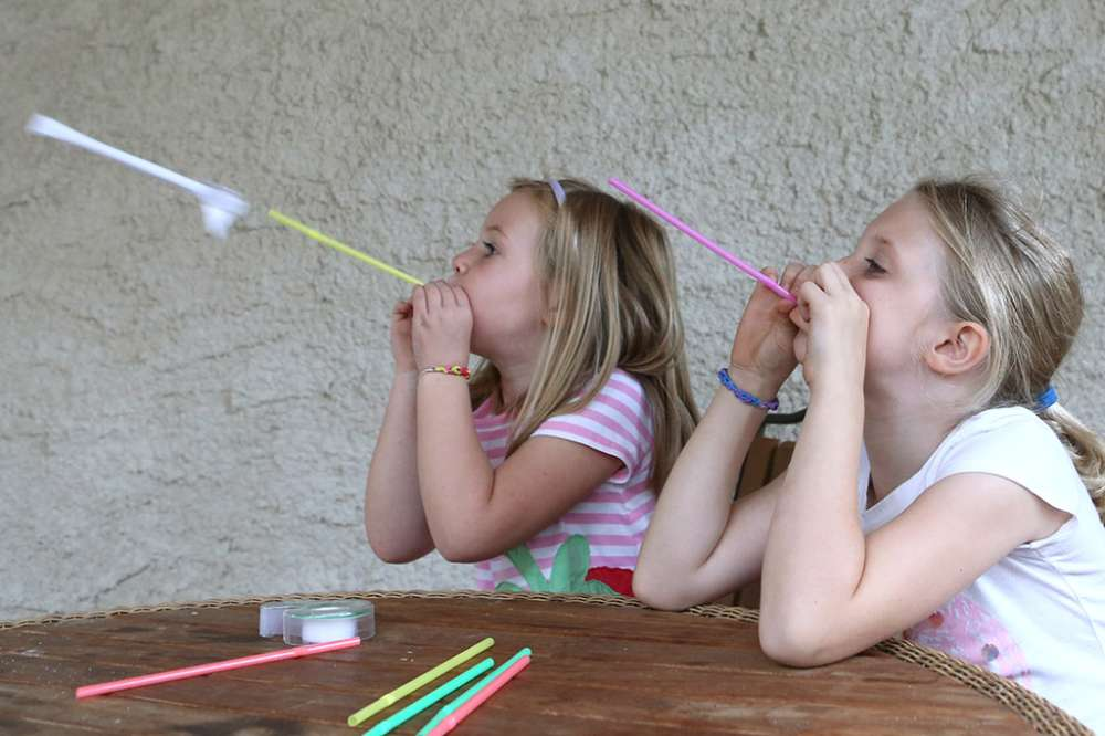 Drinking Straw Rockets: Science Activity
