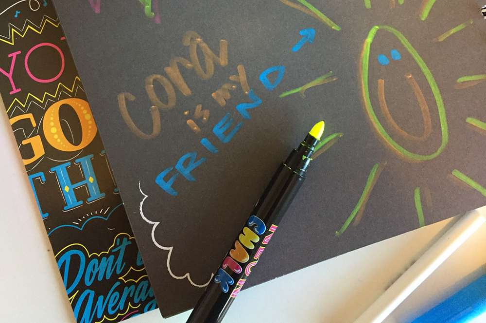 Electrify Your Words With Neon Chalk