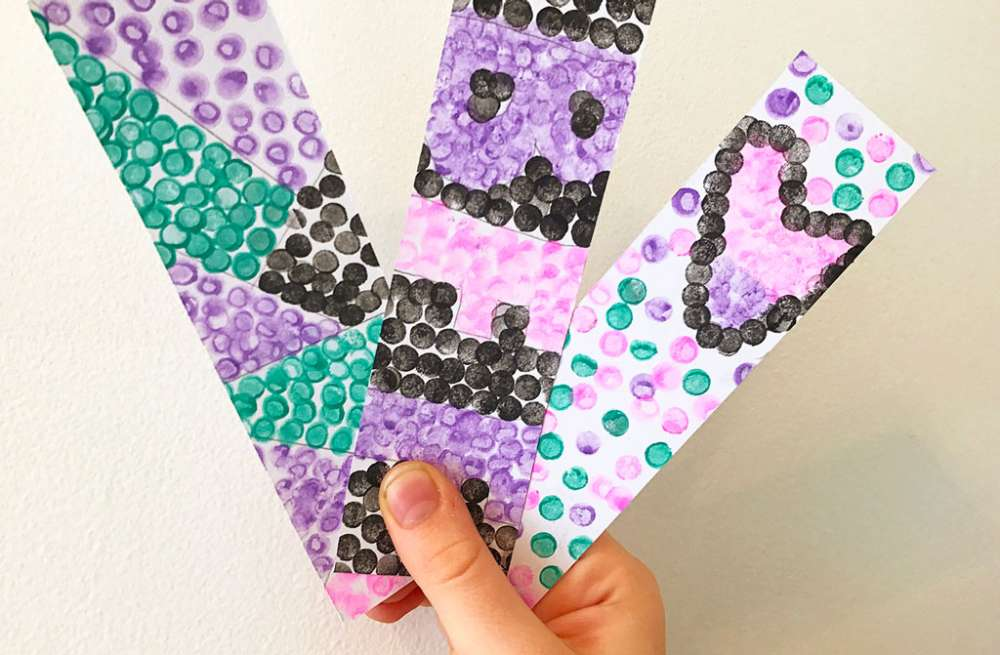 Pointillism for Kids: Painting with Dots!