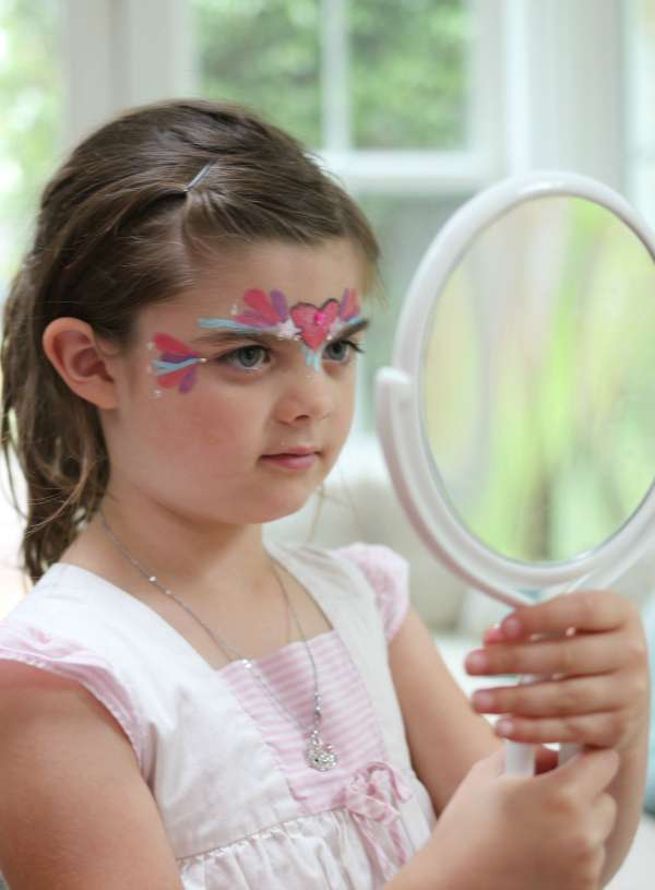 Try It at Home: Glitter Face Painting