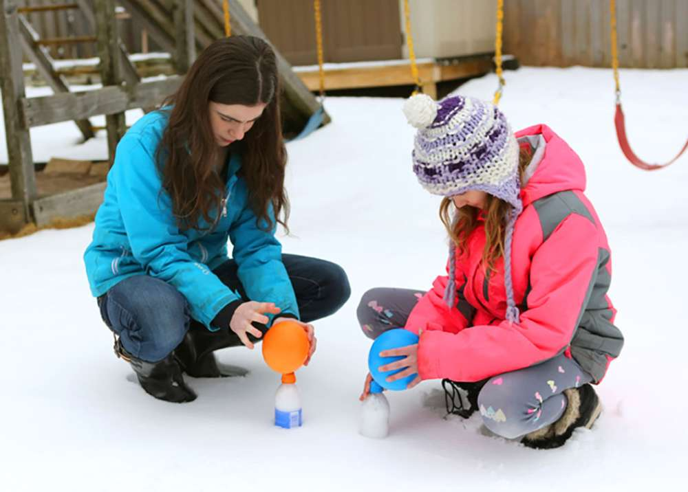 Winter Weather Fun: Cold Air Balloon Kids' Experiment