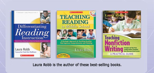 Laura Robb is the author of these best-selling books.