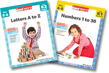Letters A to Z and Numbers 1 to 30