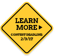 LEARN MORE: CONTEST DEADLINE: 2/3/17