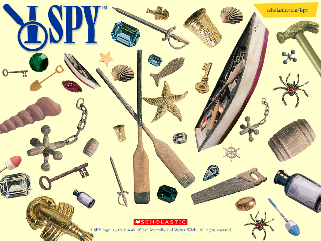 Printable I Spy Games