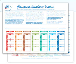 get your attendance trackers now