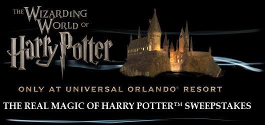The Real Magic Of Harry Potter™ Sweepstakes