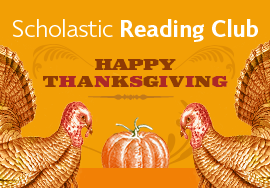 Scholastic Reading Club Thanksgiving Books