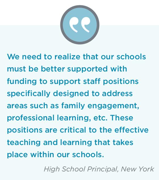 Educators Funding Priorities Teachers And Principals School