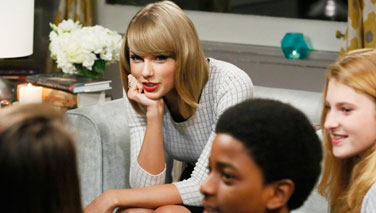 Advocacy in Action: Taylor Swift talks about importance of reading