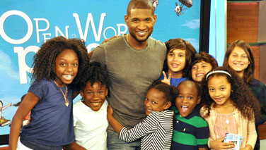 Advocacy in Action: Usher's webcast about how reading can create possibility